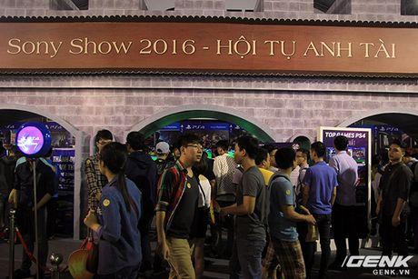 Sony Show 2016 chinh thuc dien ra tai Ha Noi, tieu diem la trai nghiem Game voi PlayStation VR - Anh 1