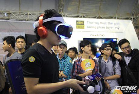 Sony Show 2016 chinh thuc dien ra tai Ha Noi, tieu diem la trai nghiem Game voi PlayStation VR - Anh 4