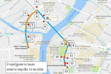 Nguoi dan Thai Lan xep hang dai cho don linh cuu Quoc vuong - Anh 3