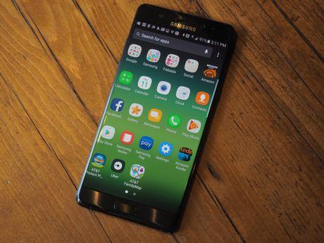 Galaxy Note 7 bi cam xuat hien tren tat ca cac chuyen bay cua My - Anh 1