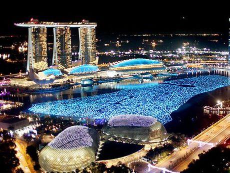 Kinh te Singapore trong quy 3 tang truong thap hon du bao - Anh 1