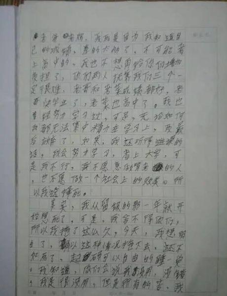 TQ: Nam sinh tu sat vi khong muon an bam cha me - Anh 3