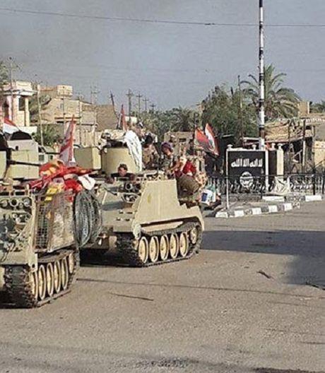 Hinh anh quan doi Iraq tuan tra vung Al-Bakr sau giai phong - Anh 5