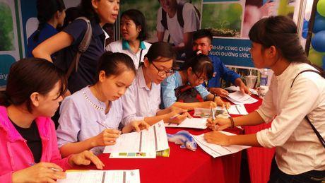 Ngay hoi viec lam Truong Dai hoc Nong Lam TPHCM 2016 - Anh 1