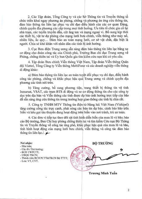Bo truong Truong Minh Tuan yeu cau chu dong ung pho mua lu va bao Sarika - Anh 3