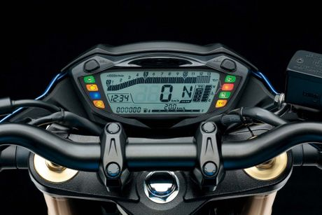 Suzuki trinh lang GSX-S750 2017 nhieu cai tien moi - Anh 2