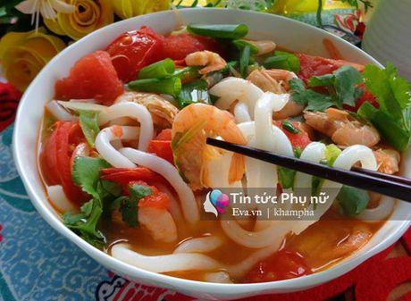 Banh canh tom, mon ngon cho con an sang - Anh 6