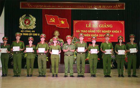 Bo sung nguon cho luc luong Canh sat thi hanh an hinh su va ho tro tu phap - Anh 2