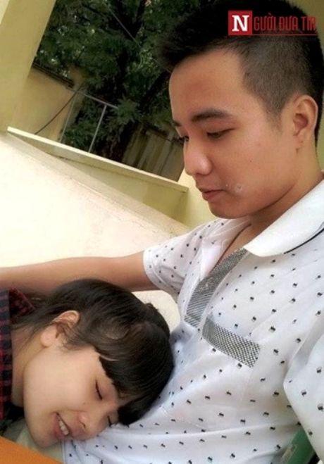 Chuyen tinh trac tro cua co gai xinh xan va chang trai cut chan - Anh 3