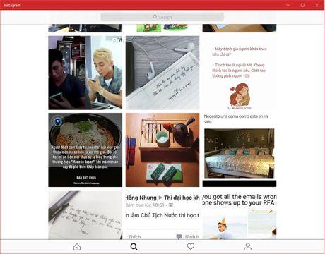 Instagram chinh chu da co mat tren Windows 10 - Anh 3