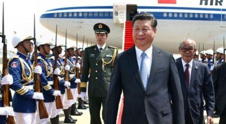 Chuyen tham Campuchia cua Tap Can Binh va tuong lai chinh tri cua Thu tuong Hun Sen - Anh 1