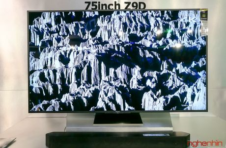 Can canh TV Bravia 4K HDR Z9D tai Sony Show 2016 - Anh 14
