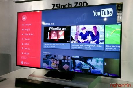 Can canh TV Bravia 4K HDR Z9D tai Sony Show 2016 - Anh 18