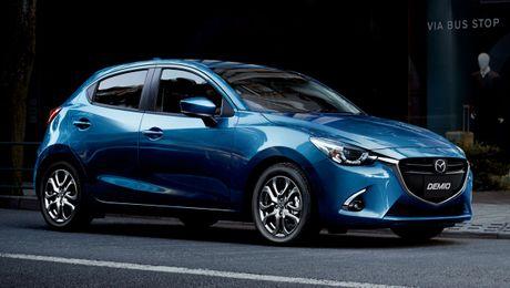Mazda2 2017 nang cap nhe thiet ke noi, ngoai that - Anh 1