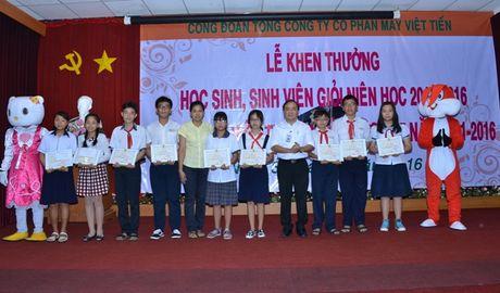 CD TCty CP May Viet Tien: Khen thuong kip thoi va co che do nghi ngoi hop ly cho NLD - Anh 1