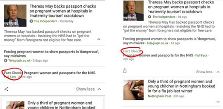 Google News bo sung tinh nang xac thuc thong tin noi bat - Anh 2