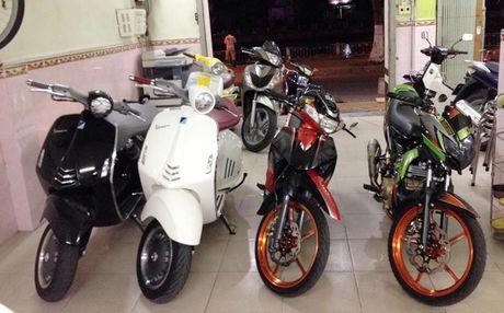 Bo suu tap xe doc cua thieu gia ve so o Soc Trang - Anh 4