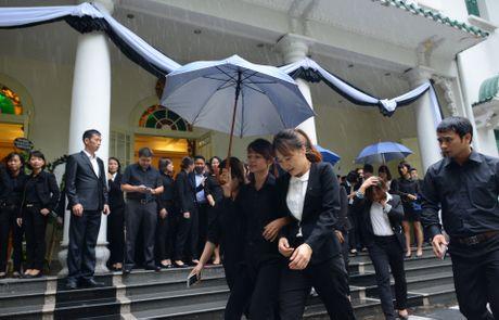 Doan nguoi xep hang vieng nha vua Thai Lan tai Ha Noi - Anh 15