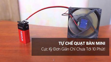 Tu che quat ban mini cuc ky don gian chi chua toi 10 phut! - Anh 1