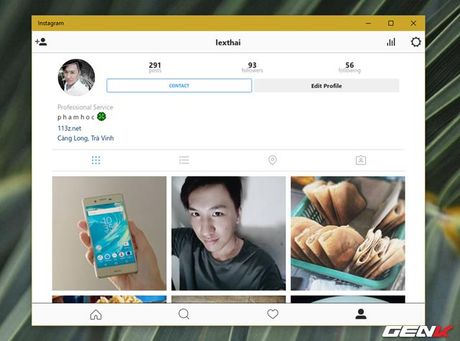 Dung thu Instagram tren may tinh Windows 10 - Anh 12