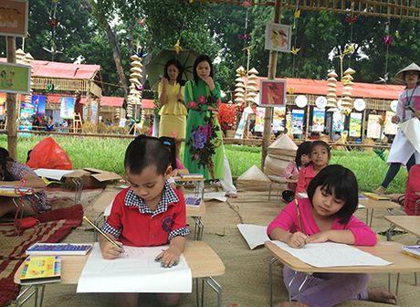 An tuong festival Ao dai 2016: cuoc thi ve tranh 'Ha Noi cua em' - Anh 1