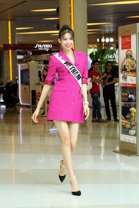Pham Huong mac vay re beo van sang chanh, thoi thuong - Anh 9