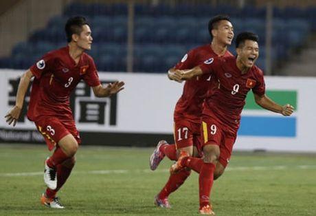 Vong chung ket giai U19 chau A 2016: Doan Van Hau len huong - Anh 1