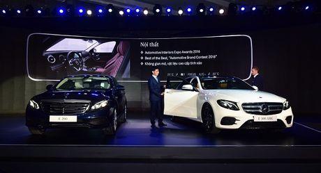 Mercedes E-Class 2017 ra mat Viet Nam, gia tu 2,1 ty dong - Anh 1