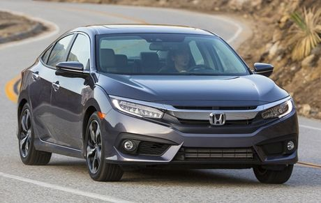 350.000 xe Honda Civic 2016 tai My bi trieu hoi - Anh 1