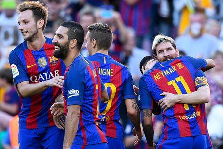 Barcelona, Atletico va Real Madrid thi nhau tao mua ban thang - Anh 1