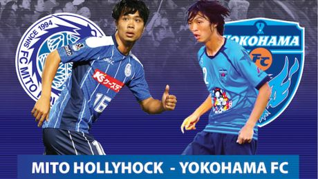 Xem truc tiep Mito Hollyhock vs Yokohama 14h00: Cong Phuong doi dau Tuan Anh - Anh 1