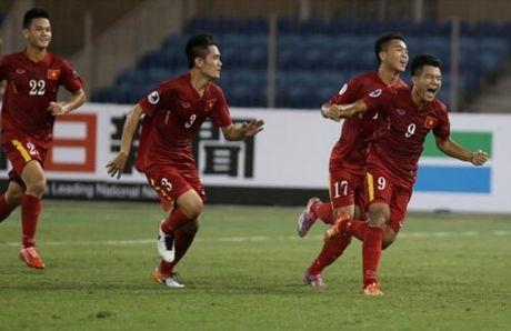 Dung tu man, U19 Viet Nam - Anh 1