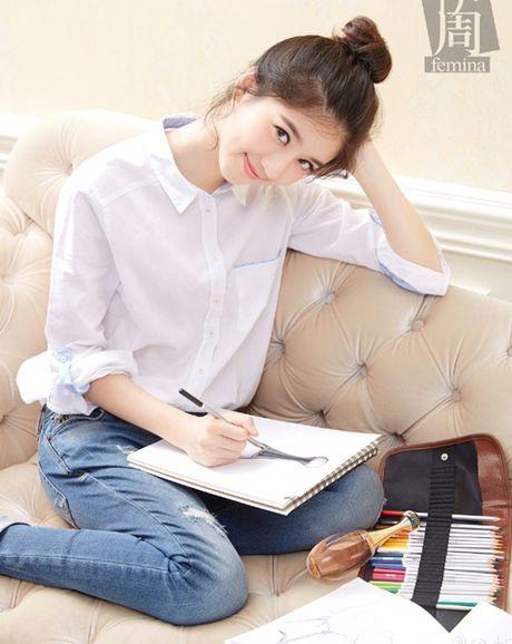Hot girl Singapore sinh nam 1999 co ve dep tu nhien nhu nu than - Anh 2
