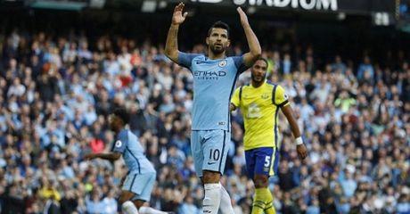 Highlight: Man City 1-1 Everton (Vong 8 NHA) - Anh 1