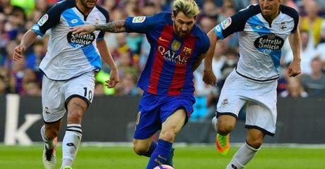 Highlight: Barcelona 4-0 Deportivo (Vong 8 La Liga) - Anh 1
