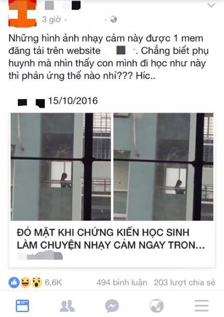 Nhuc mat voi canh hoc sinh lam chuyen nguoi lon trong truong hoc - Anh 1