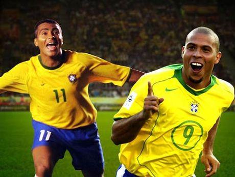 """Cap tien dao so 1: Ro """"beo"""" & Romario dau Cole-Yorke - Anh 1"""