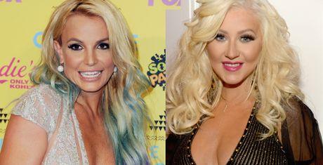 Britney Spears - Christina Aguilera: Phep so sanh cua the ky - Anh 1
