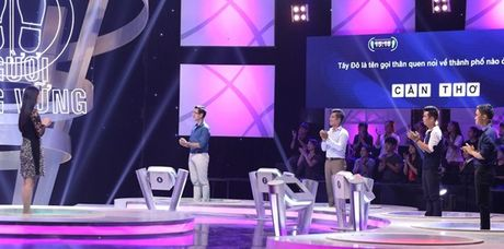 Hoa hau Ky Duyen dep gian di khi tham gia gameshow - Anh 2