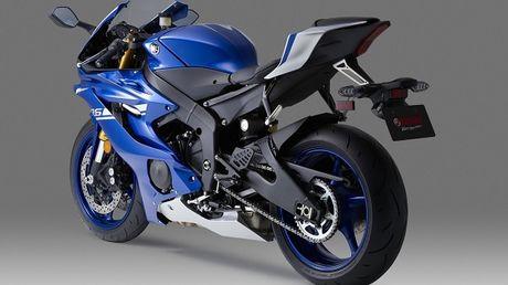 Yamaha YZF-R6 ra mat voi thiet ke cuc 'ngau' - Anh 2