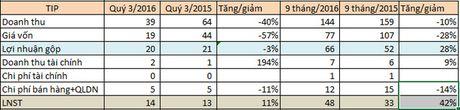 CTCP Phat trien KCN Tin Nghia (TIP): Gia von giam sau, vuot 10% ke hoach loi nhuan nam sau 9 thang - Anh 2