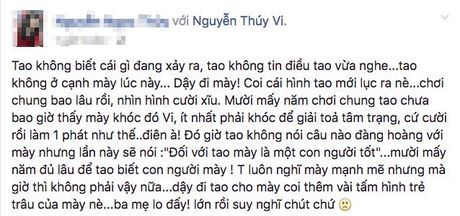 Bo Thuy Vi: 'Hai ngay truoc Vi con vui ve goi dien ve gui thuoc cho chu, gio khong goi duoc nua' - Anh 2