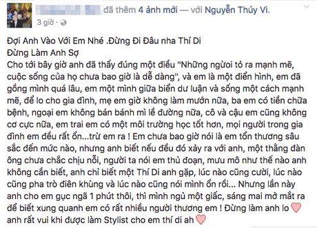 Bo Thuy Vi: 'Hai ngay truoc Vi con vui ve goi dien ve gui thuoc cho chu, gio khong goi duoc nua' - Anh 3