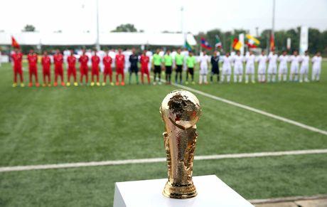 Doi bong tham du bang ve vot vo dich Viettel World Cup 2016 - Anh 1