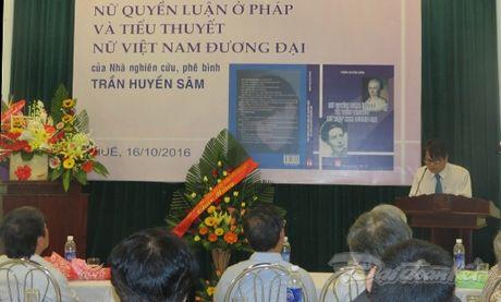 'Nu quyen luan o Phap va tieu thuyet nu duong dai Viet Nam' - Anh 1