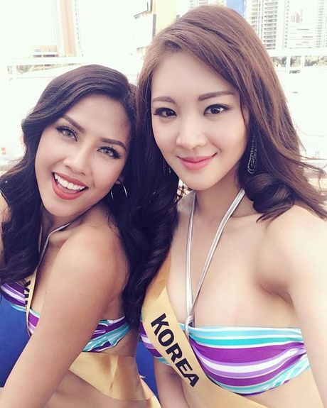 Nguyen Loan dien bikini nong bong tai Miss Grand Internation - Anh 4
