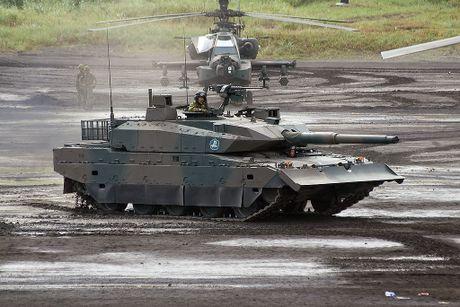 Xe tang Type-10 cua Nhat, hien dai nhung kho xuat khau - Anh 2