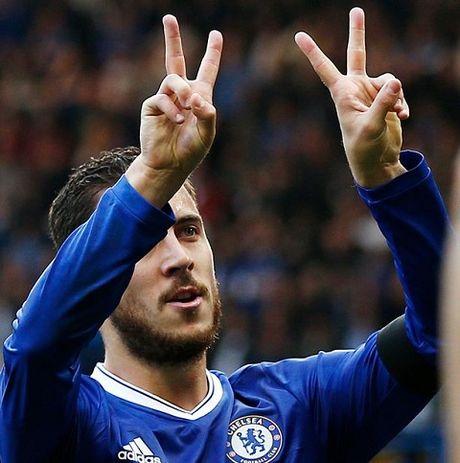 Conte: 'Day la tran HAY NHAT cua Chelsea'. Hazard: 'Toi hanh phuc vi duoc da so 10' - Anh 2