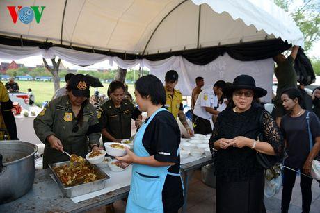 Nguoi dan Thai Lan xep hang dai ca cay so de vieng Vua - Anh 7