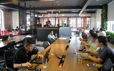 Xu huong moi: Van phong 'Co-working space' - Anh 1